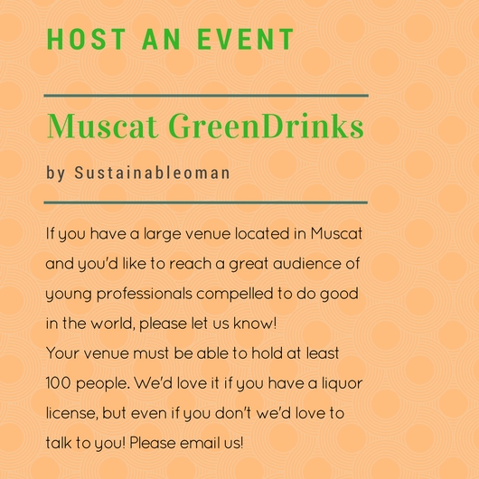 Host GreenDrinks